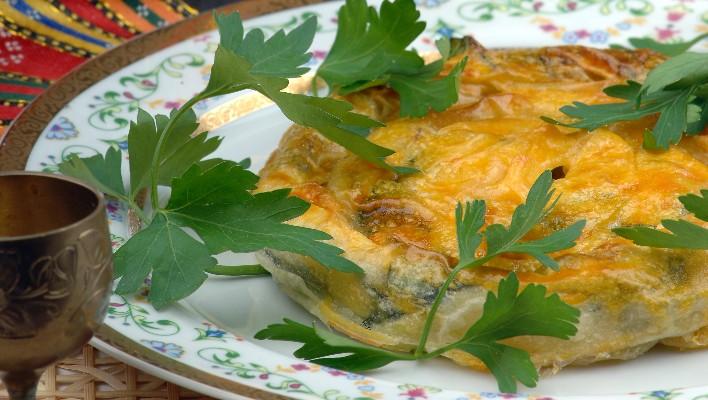 Patlıcanlı Sarıgerme Böreği Tarifi