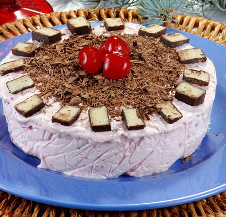 Peynirli Çilekli Parfe Tarifi