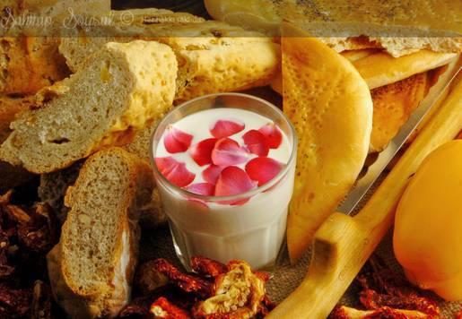 Peynirli Kısantos Ekmeği Tarifi
