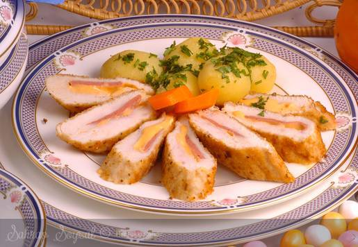 Peynirli Tavuk Parizyen Tarifi