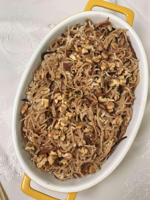 Pirinçli Erişte Pilavı Tarifi