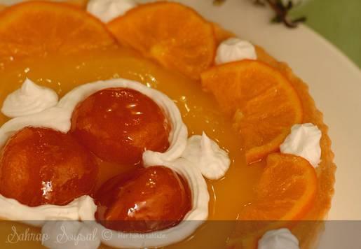 Portakallı Tart Ancelina Tarifi