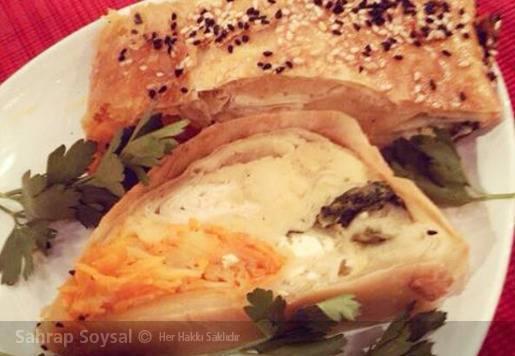 Sebzeli Dört Mevsim Böreği Tarifi