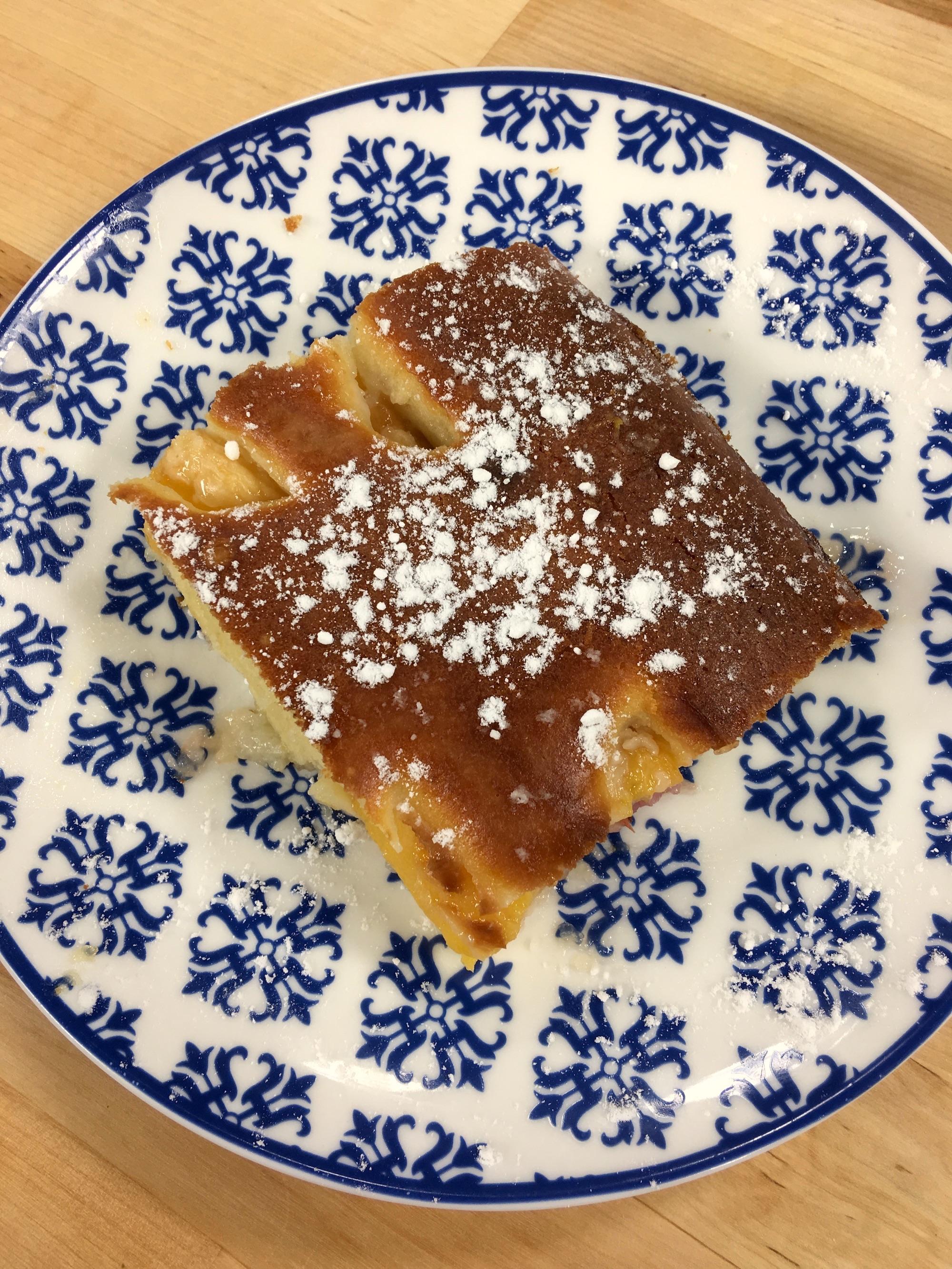 Şeftalili Eylül Pastası Tarifi