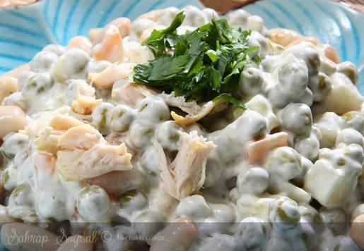 Tavuklu Amerikan Salatası Tarifi