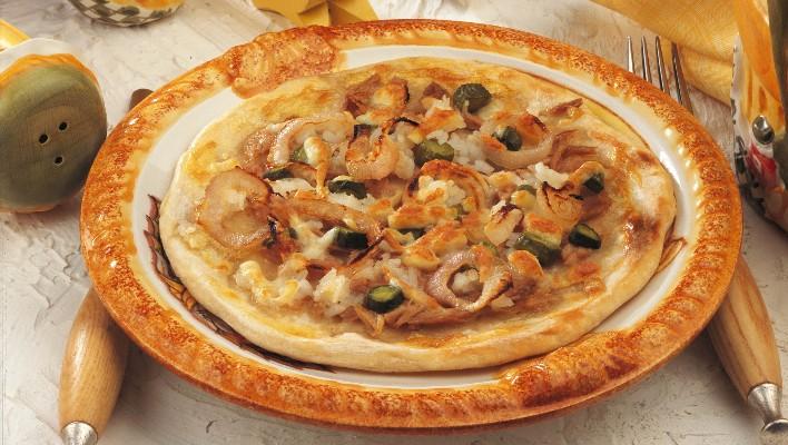Tavuklu Çerkez Pizzası Tarifi