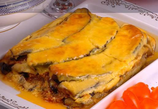 Yunan Usulü Patlıcan Musakka Tarifi