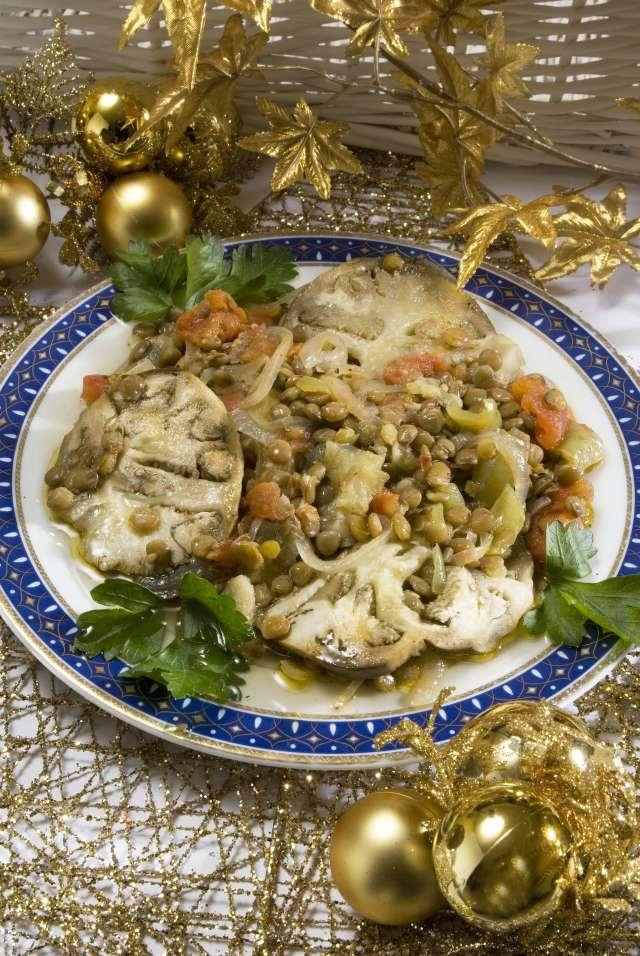 Zeytinyağlı Mercimekli Patlıcan Tarifi