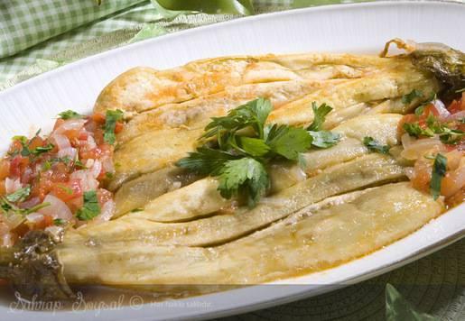 Zeytinyağlı Patlıcan Paçası Tarifi