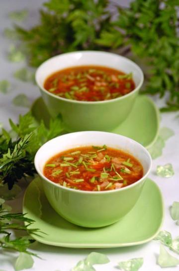 Acılı Ekşili Çin Çorbası Tarifi
