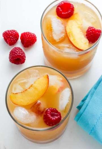 Ahududu ve Şeftalili Limonata Tarifi