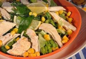 Ceviz Soslu Tavuk Salatası Tarifi