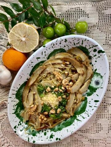 Cevizli Enginar Salatası Tarifi