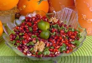 Cevizli Nar Salatası Tarifi