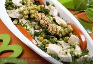 Cevizli Tavuk Salatası Tarifi