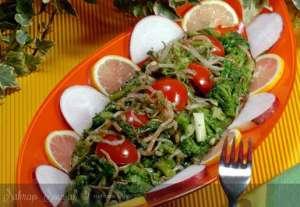Çin Usulü Brokoli Salatası Tarifi