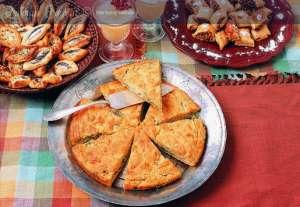Dereotlu Mısır Ekmeği Tarifi