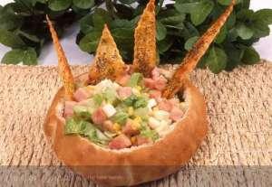 Ekmek Sepetinde Salata Tarifi