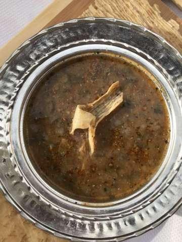 Ekşili Patlıcanlı Çorba Tarifi