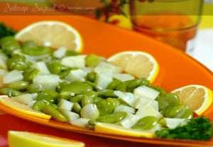 Enginarlı Taze Bakla Salatası Tarifi