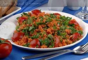 Esin Hanımın Kısır Salatası Tarifi