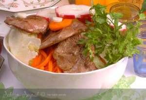 Etli Fransız Salatası Tarifi