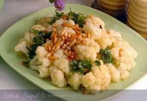 Fıstıklı Karnabahar Salatası Tarifi