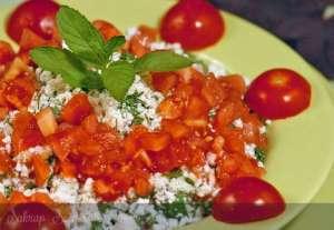 Girit Usulü Kahvaltı Salatası Tarifi