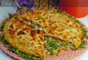 Hamsili Mantarlı Tava Böreği Tarifi