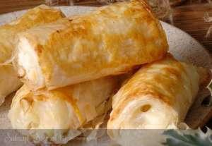 Hazır Baklava Yufkasında Börek Tarifi