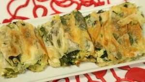 Ispanaklı Kırma Börek Tarifi