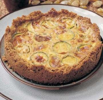Kabaklı Bayat Ekmek Pastası Tarifi
