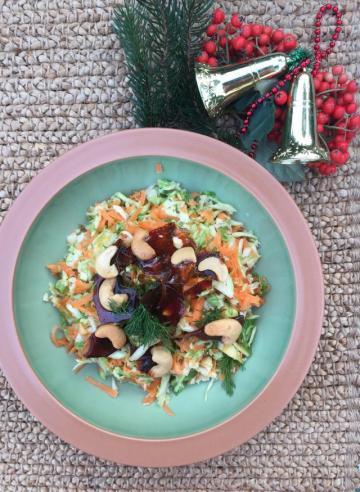 Kajulu Brüksel Lahana Salatası Tarifi