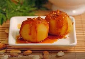 Karamel Soslu Elma Tatlısı Tarifi