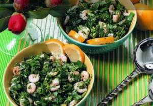 Karidesli Maydanoz Salatası Tarifi