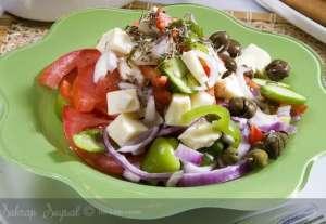 Klasik Grek Salatası Tarifi