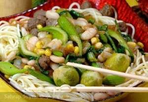 Köfteli Çin Yemeği Tarifi