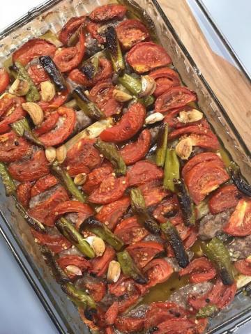 Köfteli Sumaklı Patlıcan Kebabı Tarifi