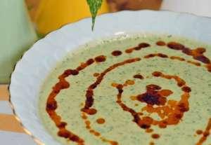 Kremalı Pazı Çorbası