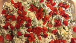 Labneli Kabaklı Semizotu Salatası Tarifi