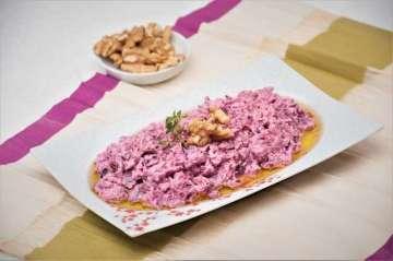 Labneli Pancar Salatası Tarifi