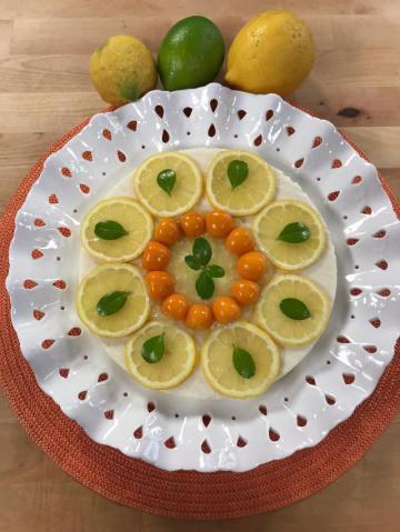 Limonlu Bademli İrmik Tatlısı Tarifi