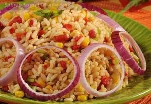 Limonlu Pirinç Salatası Tarifi