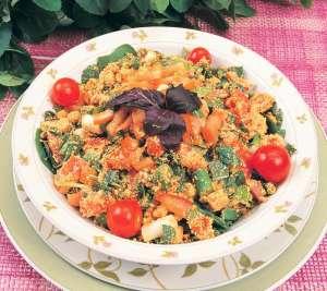 Lor Peynirli Roka Salatası Tarifi