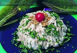 Maydanozlu Tavuk Salatası Tarifi