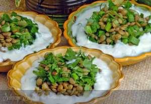 Mercimekli Domaniç Salatası Tarifi