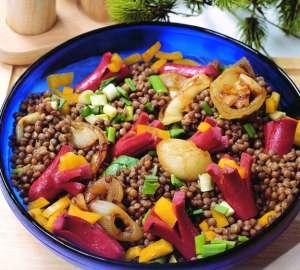 Mercimekli Hisarönü Salatası Tarifi
