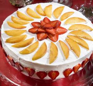 Meyveli Azeri Pastası Tarifi