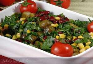 Mısırlı Meksikan Salatası Tarifi