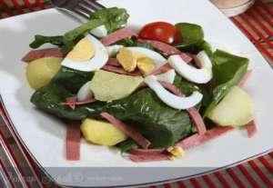 Patatesli Ispanyol Salatası Tarifi